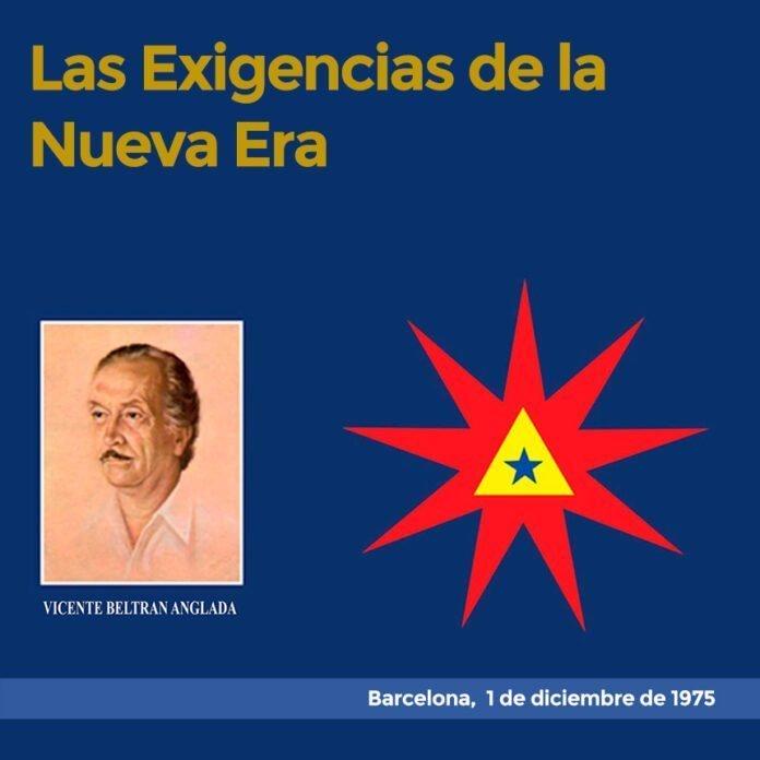 Las Exigencias de la Nueva Era Barcelona, 1 de diciembre de 1975