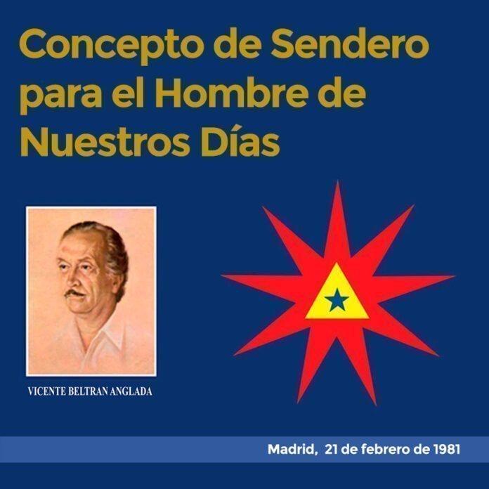 Concepto de Sendero para el Hombre de Nuestros Días Madrid, 21 de febrero de 1981