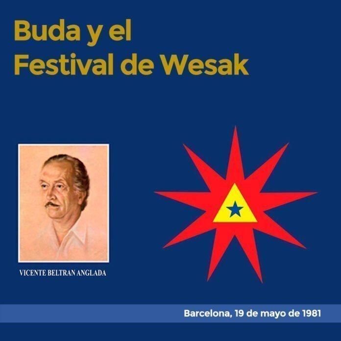 Buda y el Festival de Wesak Barcelona, 9 de abril de 1981