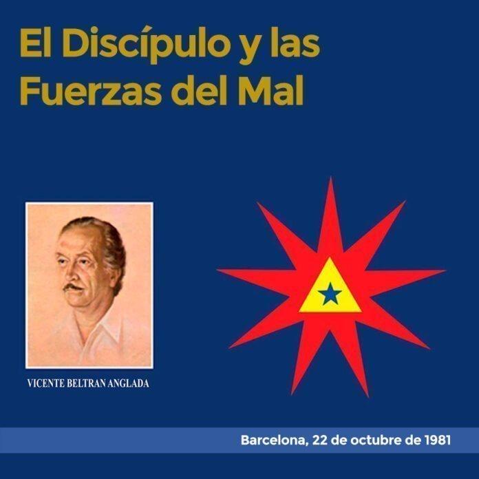 El Discípulo y las Fuerzas del Mal Barcelona, 22 de octubre de 1981